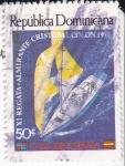 Stamps Dominican Republic -  XI Regata.Almirante Cristobal Colón