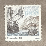 Stamps Canada -  400 Aniv Fundación Quebec