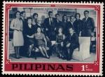 Sellos de Asia - Filipinas -  Joseph Kennedy and Family