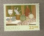 Sellos de Europa - Noruega -  Rigmor Hansen Still life