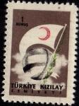 Stamps Asia - Turkey -  TÜRKIYE KIZILAY CEMIYETI