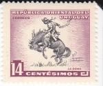 Stamps Uruguay -  La Doma