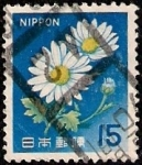 Stamps Japan -  Flores