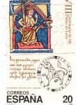 Stamps Spain -  VIII Centenario de las Cortes de León    (Ñ)