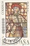 Stamps Spain -  Enrique II -Alcázar de Segovia       (Ñ)