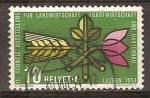 Sellos del Mundo : Europa : Suiza : Feria Agrícola, Lucerna 1954.