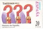 Sellos de Europa - España -  Historia de España- TARTESOS      (Ñ)