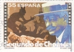 Stamps Spain -  Cine  español- SEGUNDO DE CHOMÓN    (Ñ)