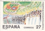 Stamps Spain -  Orfeón Pamplones       (Ñ)