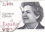 Stamps Spain -  Carmen Conde-poeta         (Ñ)