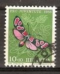 Sellos del Mundo : Europa : Suiza : Pro juventud (mariposa pimpinela (polilla)).