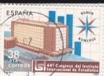 Stamps Spain -  44º Congreso del Instituto internacional de Estadísticas     (Ñ)