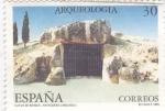 Stamps Spain -  ARQUEOLOGIA- Cueva de Menga-Antequera (Málaga)      (Ñ)