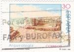 Stamps Spain -  ARQUEOLOGIA- Cabezo de Alcalá de Azaila(Teruel)      (Ñ)