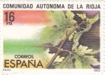 Sellos de Europa - España -  Comunidad Autónoma de La Rioja     (Ñ)