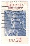Sellos del Mundo : America : Estados_Unidos : Estatua de la libertad