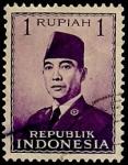 Stamps Asia - Indonesia -  Presidente Surkano