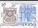 Sellos de Europa - España -  MC anivº Ciudad de Burgos          (Ñ)