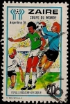 Stamps : Africa : Democratic_Republic_of_the_Congo :  Mundial de Fútbol - Argentina 78
