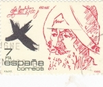 Sellos de Europa - España -  Bernal Díaz del Castillo-Conquistador     (Ñ)