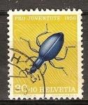 Sellos del Mundo : Europa : Suiza : Pro juventud (Escarabajo azul).