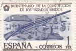 Sellos de Europa - España -  Bicentenario de la independencia de los Estados Unidos     (Ñ)