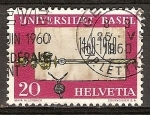 Sellos del Mundo : Europa : Suiza : 500a anniv de la Universidad de Basilea.