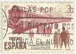 Stamps : Europe : Spain :  UTILICE TRANSPORTES COLECTIVOS