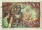 Stamps : Europe : Spain :  JARRON DE TALAVERA