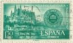 Stamps : Europe : Spain :  UNION INTERPARLAMENTARIA . MALLORCA 1967