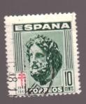 Sellos de Europa - España -  pro- tuberculosos- cruz de lorena