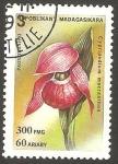 Sellos de Africa - Madagascar -  Flor