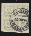 Stamps Europe - Spain -  Mural Crown