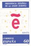 Stamps Spain -  Presidencia española de la Unión Europea    (Ñ)