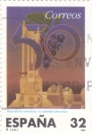 Stamps Spain -  Monumento Universal de la Vendimia     (Ñ)