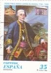 Stamps Spain -  Pedro Pablo Abarca(Conde de Aranda)          Ñ)