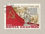 Stamps Russia -  Monumento a los trabajadores