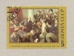 Stamps Russia -  117 Aniv. nacimiento Lenín