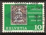 Stamps Switzerland -  Exposición Nacional de sellos en Berna 1965.
