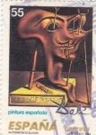 Sellos de Europa - España -  Pintura Española- Autoretrato Blando  DALÍ        (ñ)