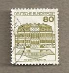Stamps Germany -  Castillo de Wilhemsthal
