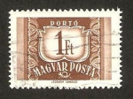 Stamps Hungary -  231 A - Cifra