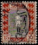 Stamps Africa - Sudan -  Soldado
