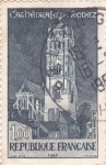 Stamps France -  Catedral de Rodez