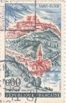 Stamps France -  Pueblo de Saint-Flour