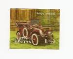 Stamps Asia - Bhutan -  Automóviles de época  Renault   3D