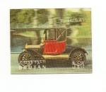 Stamps Asia - Bhutan -  Automóviles de época  Ford  3D