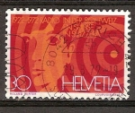 Sellos del Mundo : Europa : Suiza : 50 aniv de Radiodifusión en Suiza1922-1972.