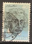 Sellos del Mundo : Europa : Suiza : Albert Einstein (físico).