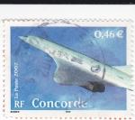 Sellos de Europa - Francia -  Concorde
